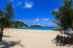 Nai Harn beach right now... nobody, but who are we to complain! #phuket #Thailand