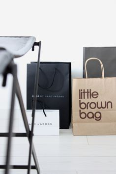 homevialaura | Marc Jacobs | Bloomingdale's | Little Brown Bag | paper bags | shopping
