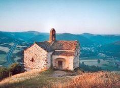 La chapelle du vertige Sainte Madeleine à Massiac (Cantal), France, Haut-lieu d'énergie
