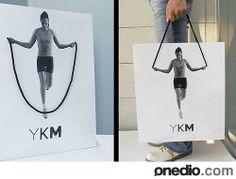 Fitness'tan İlham Alınan Alışveriş Çantası