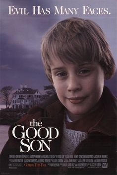 Directed by Joseph Ruben. With Macaulay Culkin, Elijah Wood, Wendy Crewson, David Morse. A young boy stays with his aunt and uncle and befriends his cousin, a boy of the same age who shows increasing signs of violent and psychopathic behavior. All Movies, Scary Movies, Great Movies, Movies To Watch, Movies And Tv Shows, Horror Movies, 1990s Movies, Amazing Movies, Movie Posters