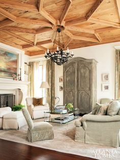 Atlanta interior designer Carole Weaks and Seacrest Beach designer Susan Massey are responsible for the breathtaking interiors, while Atlanta architecture firm Spitzmiller & Norris designed the Charleston home.
