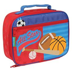 Stephen Joseph Lunch Box Sports -- Check out the image by visiting the link.Note:It is affiliate link to Amazon.