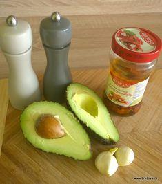 Avokádová pomazánka se sušenými rajčaty Guacamole, Fruit, Food, Essen, Meals, Yemek, Eten