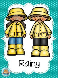 Seasons Activities, Vocabulary Activities, Preschool Weather, Teachers Be Like, Flashcards For Kids, Weather Seasons, Free Frames, English Activities, Binder Covers