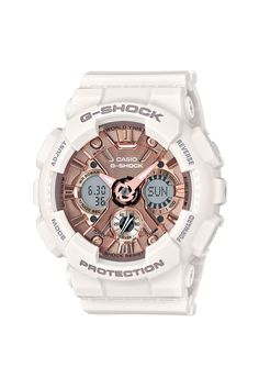 Designed with the active woman in mind. G-Shock S Series  ad Casio 6787054756