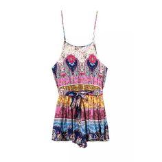 boho-chic, jumpers, rompers, shorts, womens apparel, boho-sweet Summer Jumpers, Boho Chic, Bohemian, Pink Jumpsuit, Jumpsuits, Rompers, Shorts, Clothes For Women, Tank Tops