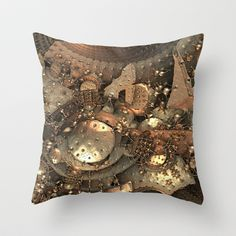 Crash at Roswell Throw Pillow by Lyle Hatch - $20.00