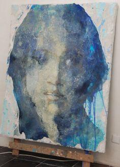 Best painting face portrait colour ideas Abstract Portrait, Portrait Art, Portraits, Art Inspo, Painting Inspiration, Mexico Art, Cool Paintings, Face Art, Figure Painting