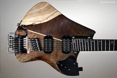 Rick Toone's Bespoke Guitars and Patented Technology
