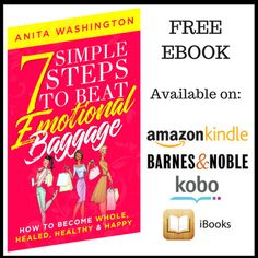 An ebook featuring a 7-Step method to help you resolve emotional baggage.