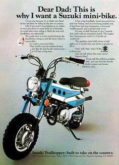 Suzuki Trailhopper MT 50, USA, ähnlich Suzuki RV.