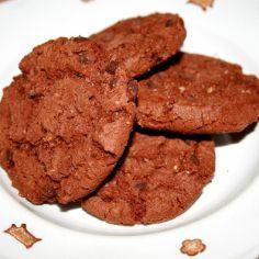 AMERICAN CHOCOLATE COOKIES // Käytä suklaana Lontoonraesuklaata!