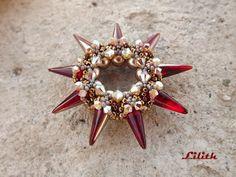 Lilith Gyöngyékszerek: Spiky Donut