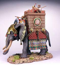 Carphagian WAR Elephant 54 MM TIN Lead | eBay