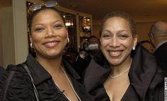 Queen Latifah and her mother