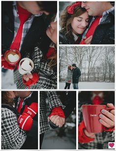 Be My Valentine Winter Engagement Shoot Inspiration Board inspired by jillianmcgrath.com/ photography. So lovely :)