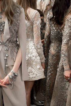 ELIE SAAB - details of exclusive boho bohemian hippie gypsy style. For more followwww.pinterest.com/ninayayand stay positively #inspired