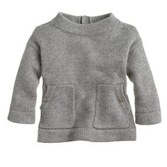 Girls' patch-pocket sweater - wool blend - Girl's sweaters - J.Crew