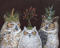 Vicki Sawyer - Owl Family
