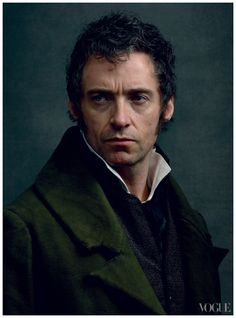 Hugh Jackman as Jean Valjean in 'Les Miserables' Photo by Annie Leibovitz. 'Les Miserables' features costume design from Paco Delgado who is best known for his work with Pedro Almodovar and has almost exclusively designed contemporary costumes. Jean Valjean, Les Miserables Cast, Les Miserables 2012, Annie Leibovitz Portraits, Annie Leibovitz Photography, Victor Hugo, Hugh Jackman Les Miserables, Anne Leibovitz, Hugh Michael Jackman