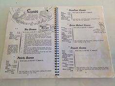 Retro scone recipes at Dunster Castle #Nationaltrust
