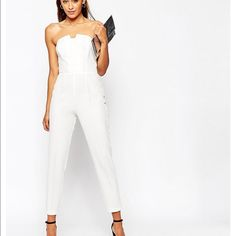 Asos pleated origami jumpsuit Uk8/us6 new with tags. I will no model thank you. ASOS Pants Jumpsuits & Rompers
