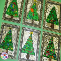 A Christmas Parent Gift...Stained Glass Window Pictures - Pocket of Preschool