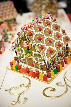 Cute Gingerbread House | #christmas #gingerbreadhouse #xmas