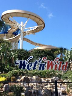 """Wet 'n Wild in Orlando, FL, America's favorite water park, is truly the wettest and wildest Orlando area attraction, with over 30 action-packed acres of pools, slides and flumes, including: """"The Surge"""" 5-story tube ride, """"Der Stuka"""" 6-story speed slide, """"Lazy River"""" and more! Transportation to local attractions is readily available for our guests. From on-site service cabs, vans, shuttles, and an I-Ride Trolley stop just outside our entrance. Wet 'n Wild is only 4.6 miles from our resort."""