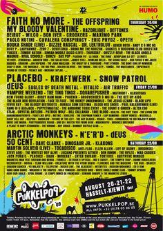 Pukkelpop 2009 - Present!