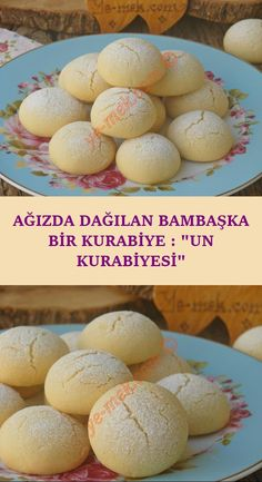 Ağızda Dağılan Bambaşka Bir Kurabiye : Un Kurabiyesi - galletas - Las recetas más prácticas y fáciles Banana Dessert Recipes, Banana Pudding Recipes, Sweet Desserts, Flour Recipes, Cookie Recipes, Cupcakes, Cakes Plus, No Flour Cookies, Light Snacks