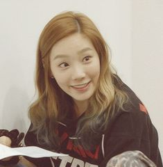 Taeyeon SNSD Girls' Generation Awkward Smile GIFs
