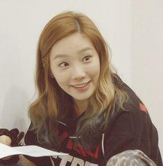 Taeyeon SNSD Girls' Generation Awkward Smile GIFs