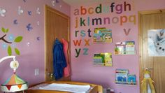 Girls and boys room