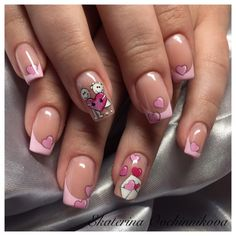 Heart Nail Designs, Nail Art Designs, Nails Design, Witch Nails, Heart Nails, Nail Trends, All The Colors, Valentines, Beauty