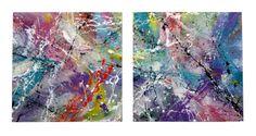 "Saatchi Art Artist: Nena Stojanovic; Enamel 2013 Painting ""Be happy"""