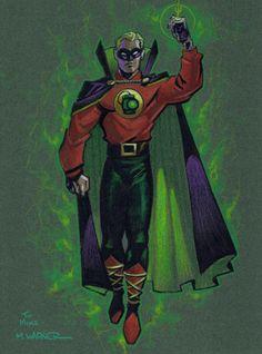 Alan Scott, Green Lantern by Matt Wagner