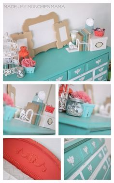 cute room with mint furniture - Google Search