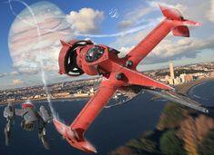 Image 1043: city cowboy_bebop ganymede iwasan red_tail science_fiction swordfish_ii