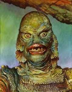 Creature From The Black Lagoon - Portrait