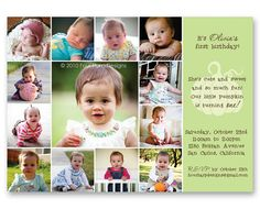 Little Pumpkin First Birthday Invitation por FourHarpDesigns