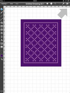 Lilys Quilts: Touchdraw - getting started