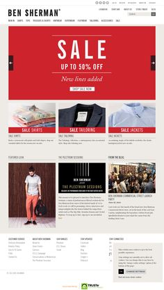 Homepage  Website 'http://www.bensherman.com/us/' snapped on Snapito!
