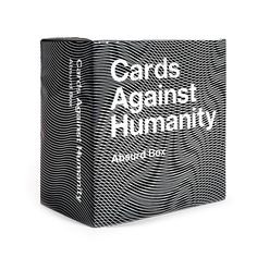 The Cards Against Humanity Absurd Box contains 300 all-new cards you can add to your Cards Against Humanity collection. Designed exclusively for silly adults, this expansion pack features fresh cards to mix into your game night action. Vr Games, Games Box, Games To Play, Fun Party Games, Adult Party Games, Board Game Box, Board Games, Cards Against Humanity Expansion, Box Bed