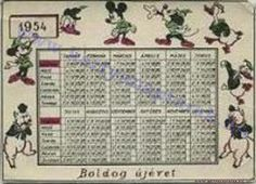 1954 - 1954_0020 - Régi magyar kártyanaptárak
