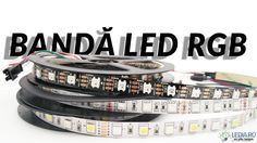 banda led rgb 5050 smd 12v rgbw si banda led digitala