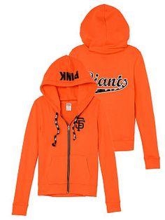 San Francisco Giants Bling Full-Zip Hoodie, supeer cute! Must have!!