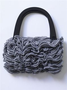 crochet ruffled wonderful handbag video tutorial | make handmade, crochet, craft