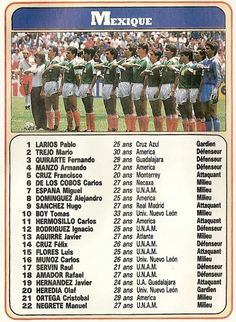 Mexico 86, Mexico Soccer, World Cup, Albums, Football, America, Stickers, Star, Classic